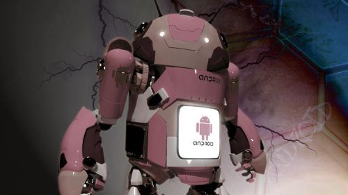 Droid In Pink